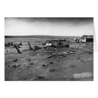 Zona desértica Dallas Dakota del Sur 1936 Tarjeta