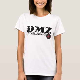 Zona desmilitarizada de DMZ ninguna guerra ningún Playera
