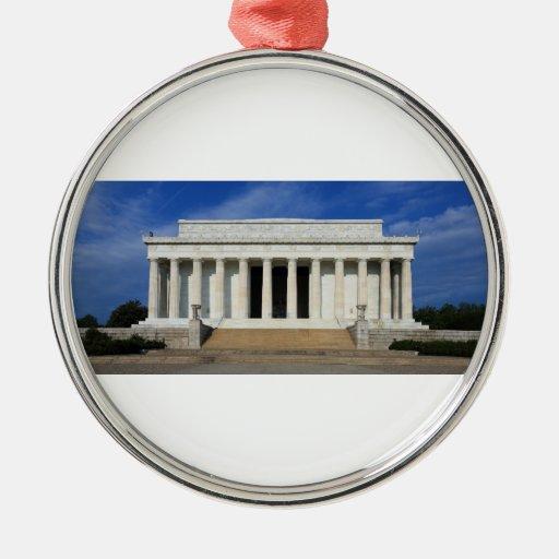 Zona este de la C.C. del Lincoln memorial Washingt Ornamente De Reyes