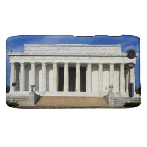 Zona este de la C.C. del Lincoln memorial Washingt Droid RAZR Carcasa