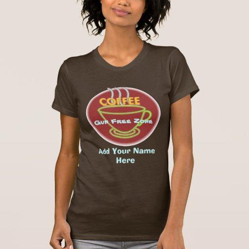 Zona franca de arma para el diseño de la camiseta