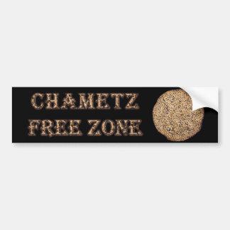 Zona franca de Chametz Pegatina Para Auto