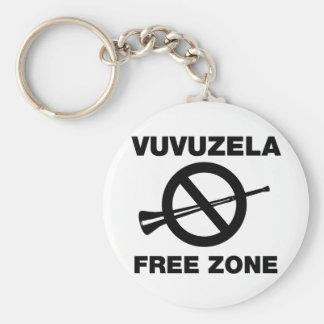 Zona franca de Vuvuzela Llavero Redondo Tipo Pin