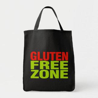Zona franca del gluten (enfermedad celiaca) bolsa tela para la compra