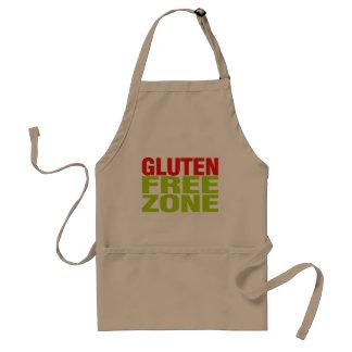 Zona franca del gluten (enfermedad celiaca) delantal