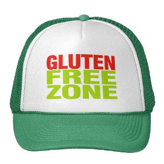 Zona franca del gluten (enfermedad celiaca) gorros bordados