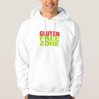 Zona franca del gluten (enfermedad celiaca) jersey encapuchado