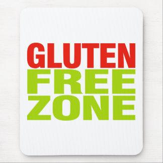Zona franca del gluten (enfermedad celiaca) mousepad