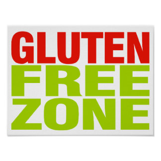 Zona franca del gluten (enfermedad celiaca) impresiones