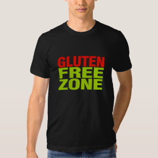 Zona franca del gluten (enfermedad celiaca) remera
