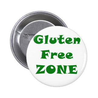 Zona franca del gluten pin redondo de 2 pulgadas