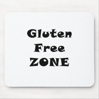 Zona franca del gluten tapetes de ratones