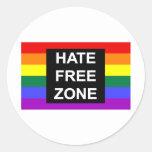Zona franca del odio pegatinas
