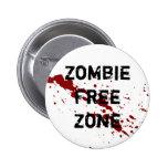 Zona franca del zombi pins