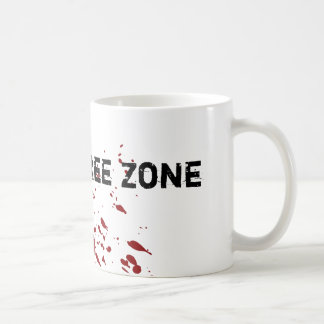 Zona franca del zombi tazas