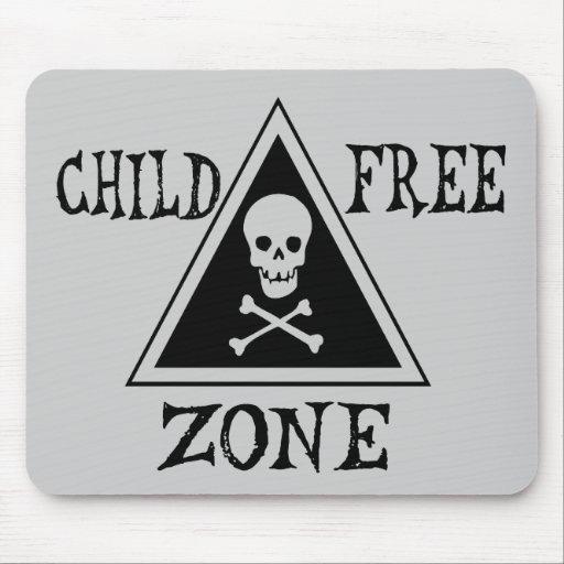 Zona Niño-Libre Alfombrillas De Ratón