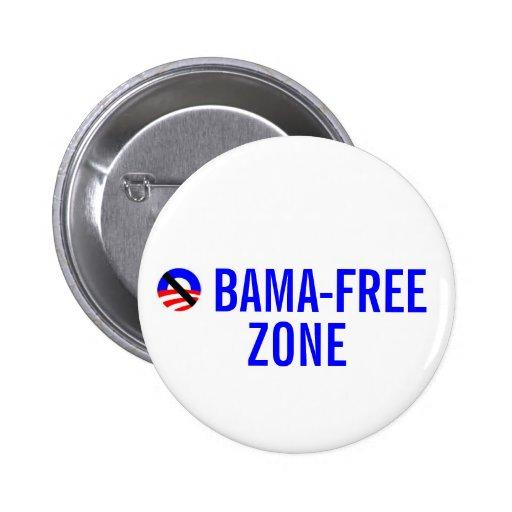 zona obama-libre pin