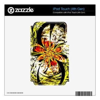 Zona peligrosa iPod touch 4G calcomanías