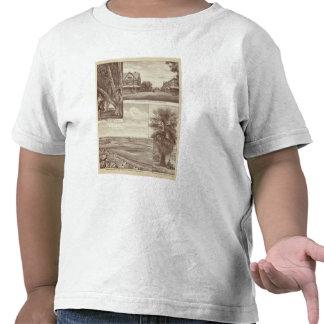 Zona pionera del Co de la tierra Porterville Camiseta