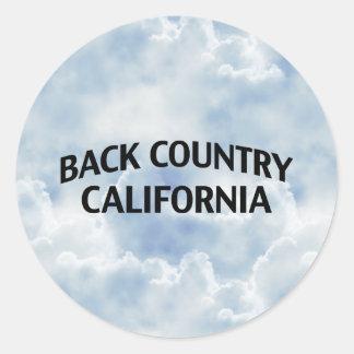Zona remota California Etiqueta