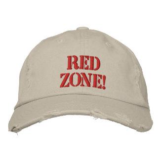 ¡Zona roja! Gorra Bordada