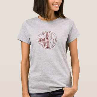 Zonal T-Map from William of Conches T-Shirt