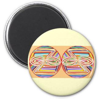 ZONAR Karuna Reiki 2 Inch Round Magnet