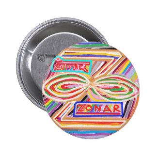 ZONAR - Karuna Reiki Symbol by Navin Joshi Button