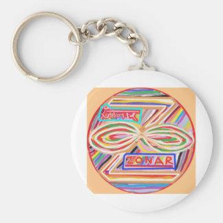 ZONAR - Símbolo de Karuna Reiki de Navin Joshi Llavero Personalizado
