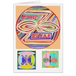 ZONAR - Símbolo de Karuna Reiki de Navin Joshi Felicitaciones
