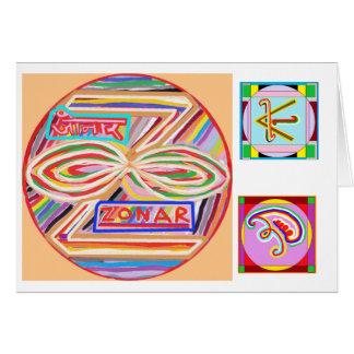 ZONAR - Símbolo de Karuna Reiki de Navin Joshi Felicitacion