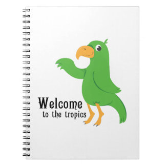 Zonas tropicales agradables notebook