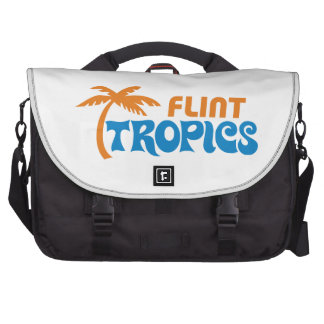Zonas tropicales del pedernal bolsas de portatil