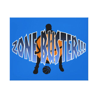 ZONE BUSTER!!! Gradient Canvas Print