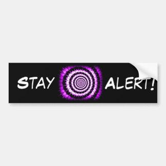 Zone In #9_ Bumper Sticker