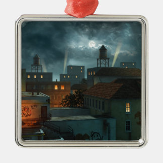 Zone Industrielle - Night Christmas Tree Ornament