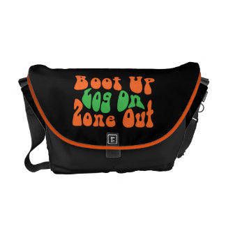Zone Out! Courier Bag