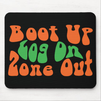 Zone Out! Mouse Pad