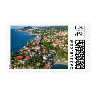 Zonguldak, Aerial, Black Sea Coast Of Turkey 2 Postage Stamp