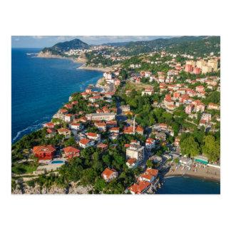 Zonguldak, Aerial, Black Sea Coast Of Turkey 2 Postcard