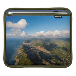 Zonguldak, Aerial, Black Sea Coast Of Turkey Sleeve For iPads