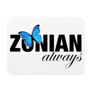 Zonian Always with Butterfly Magnet