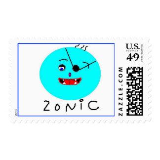 Zonic Postage Stamp