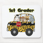 Zoo Animals 1st Grade Tshirts and Gifts Mouse Pads