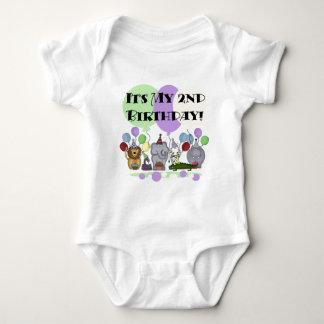 Zoo Animals 2nd Birthday Tshirts and Gifts