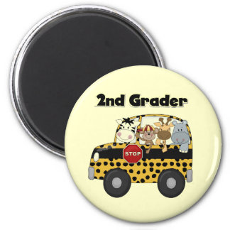 Zoo Animals 2nd Grade Tshirts and Gifts Magnet