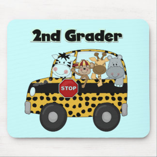 Zoo Animals 2nd Grade Tshirts and Gifts Mouse Pad