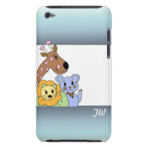 Zoo Animals Barely There iPod Cover
