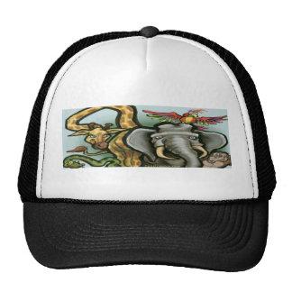 Zoo Animals Trucker Hat