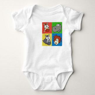 Zoo Animals Infant & Toddler Baby Bodysuit